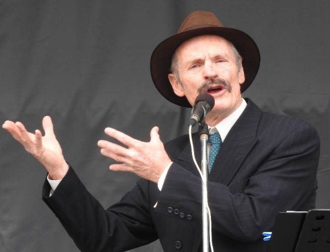 Henry Lawson Returns to Leeton for Australian Art Deco Festival