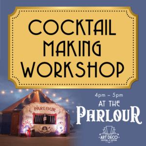 cocktail making workshop