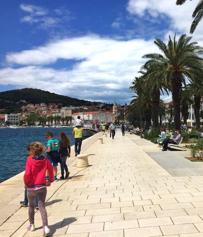 split-kroatien-riva-uferpromenade