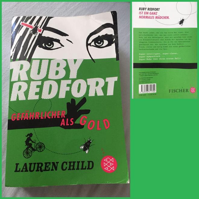 Buchempfehlung Ruby Redford mit Rückseite