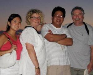 Goldstein Family, Greece, 2012