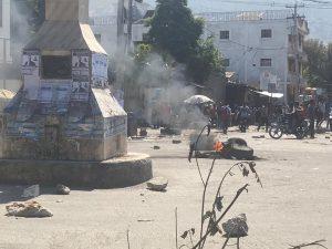 Haïti-Protestation :  Tension des rues à Port-au-Prince