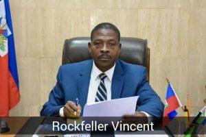 Haïti-Politique :  Rockfeller Vincent déclare la guerre à l'opposition
