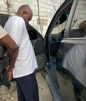 Haïti-Justice : Arrestation de Fednel Monchéry