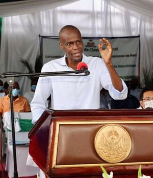 Haïti-Insécurité: Jovenel Moïse sollicite l'aide de l'international