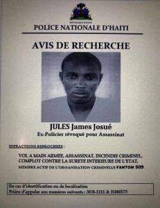 Haïti-Fantôme 509 : Abelson Gros Nègre, Jean Elder Lundi, Guerby Geffrard et consors recherchés par la police
