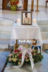 Haïti-Insécurité: Funérailles du policier Jean Daniel Michel
