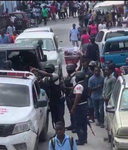 Haïti-Sécurité : Interpellation de 7 individus à bord d'un véhicule du Sénat de la République