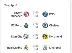 Ligue des champions : Real-Liverpool, Bayern-PSG, les matches chocs des quarts de finale