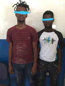 Croix-des-Bouquets : Un chauffeur ligoté, un camion de marchandises détourné et 2 individus arrêtés dont un policier