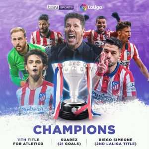 Espagne - Football : L'Atlético de Madrid remporte la Liga 2020-2021