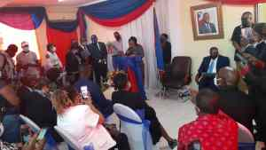 Haïti : Nommée ministre à la condition féminine, la Dr. Sofia Loréus entre en fonction