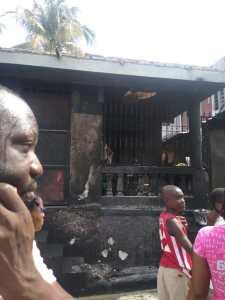 Haïti-Énergie Sinistre : Incendie à Petit-Goâve