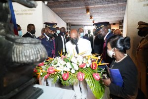 Anniversaire de naissance de Jean-Jacques Dessalines : Ariel Henry prône l'union, la paix et la réconciliation