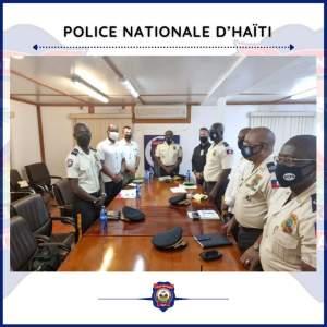 Haïti-Sécurité : Le Haut Commandement de la PNH a rencontré des experts américains