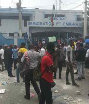 Haïti-Kidnapping : Protestation à Lalue