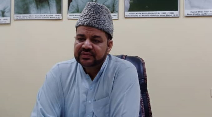 «Dans la situation actuelle, le vrai Ramadan, c'est d'aider les autres», dit le chef missionnaire d'Ahmadiyya au Burkina, Mahmood Nasir Saqib
