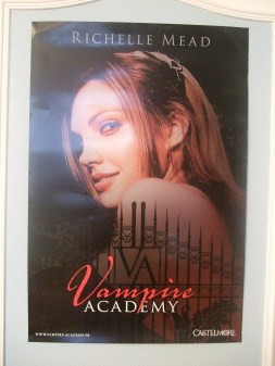 [Evènement] Salon du livre et de la presse jeunesse 2010 - Poster Vampire Academy 2