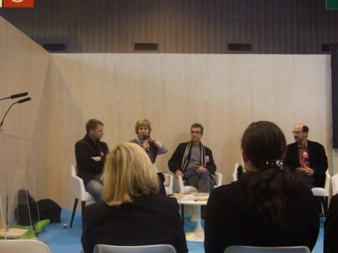 [Evènement] Salon du livre 2011 - Erik L'Homme - Hélène Wadowski - Colin Thibert - Jérôme Baschet