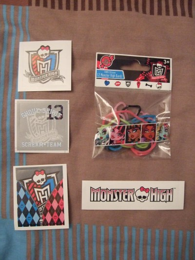 [Evènement] Salon du livre 2011 - Goodies Monster High