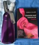 Les livres/surprises: un livre de recette pour faire de la cuisine au siphon [j'ai pris un cours y'a pas longtemps] et un livre en rapport avec Fifty shades