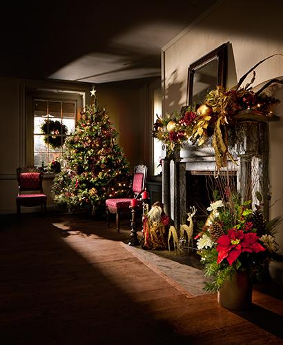 Historic Christmas tree display