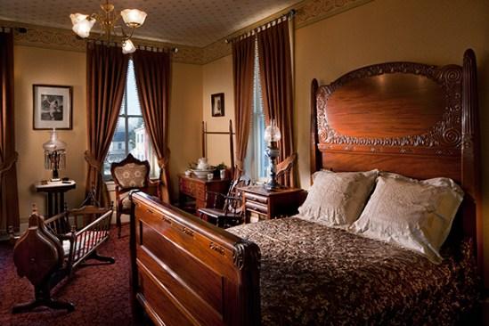 Mid 1800's bedroom