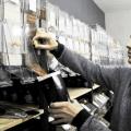Dans sa boutique « zéro déchet », Damien Provazi ne partage pas les valeurs du Black Friday. (Photo : Vichy Communauté)