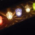 """Ces bougies que l'on appelle """"lumignons"""" seront placées sur le rebord des fenêtres lyonnaises le soir du 8 décembre. Photo : Tom Bonnard."""