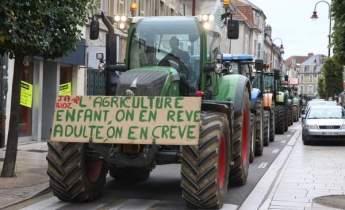 L'un des messages chocs de détresse, repris chaque année sur tout le territoire par les manifestants. Photo : l'Est Républicain