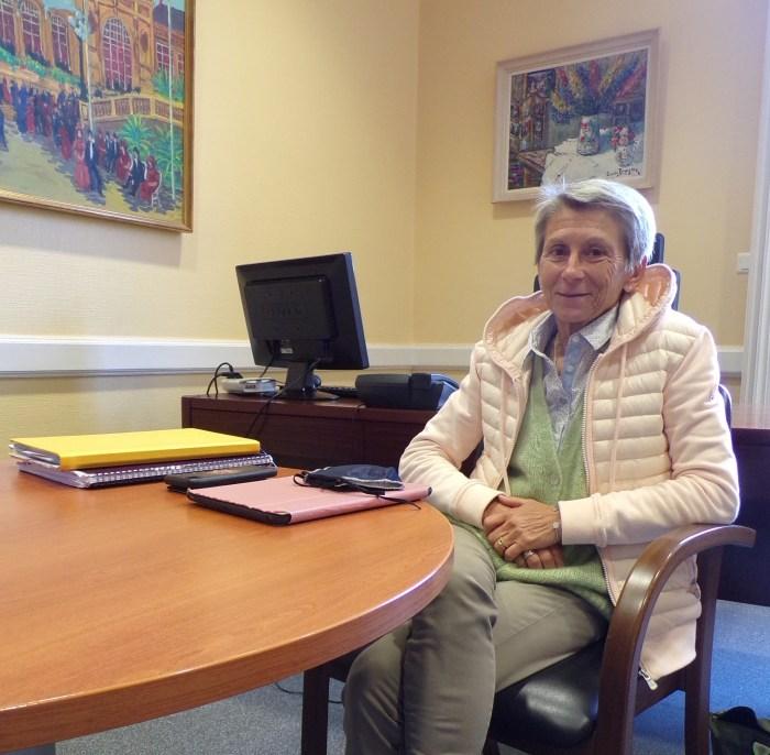 Evelyne Voitellier, adjointe et déléguée à la Sécurité et aux quartiers. Photo : Sibylle Beaunée