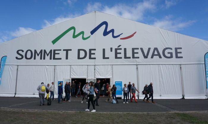 La trentième édition du Sommet de l'élevage à la Grande Halle d'Auvergne. Photo : Morgane Briens