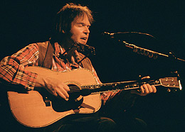 Neil Young i 1992 (Foto: Steve Schneider/Historylink.org/Wikimedia Commons)