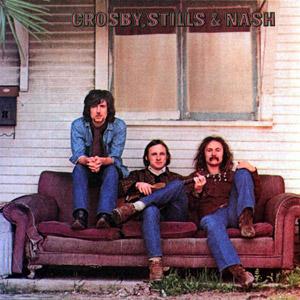 Crosby, Stills & Nash. Var debutalbumet det eneste de egentlig lagde som trio? Holder lenge, gjør det i hvert fall! (Foto; platecover)