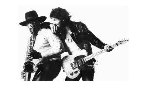 Bruce Springsteen og Clarence Clemons i 1975 (Foto: Columbia Reocrds)