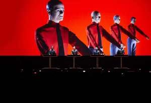 Kraftwerk inntar Operaen torsdag, med to konserter hver kveld fram til søndag. (Foto: Operaen/Kraftwerk.com)