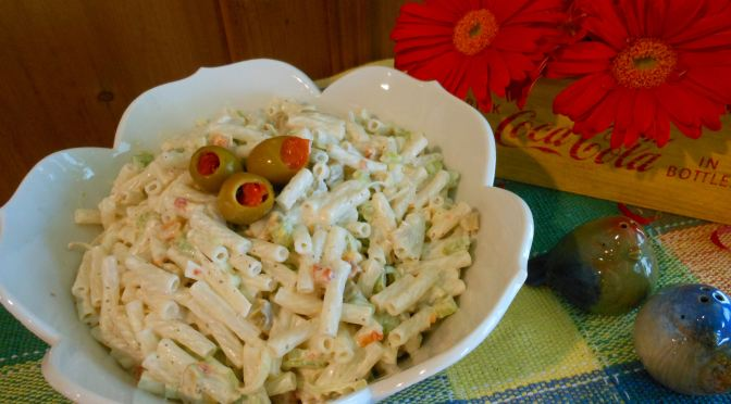 Creamy Macaroni Salad Recipe (Gluten-Free, Vegan, Egg-Free, Dairy-Free, Soy-Free, Nut-Free, Pepper-Free)