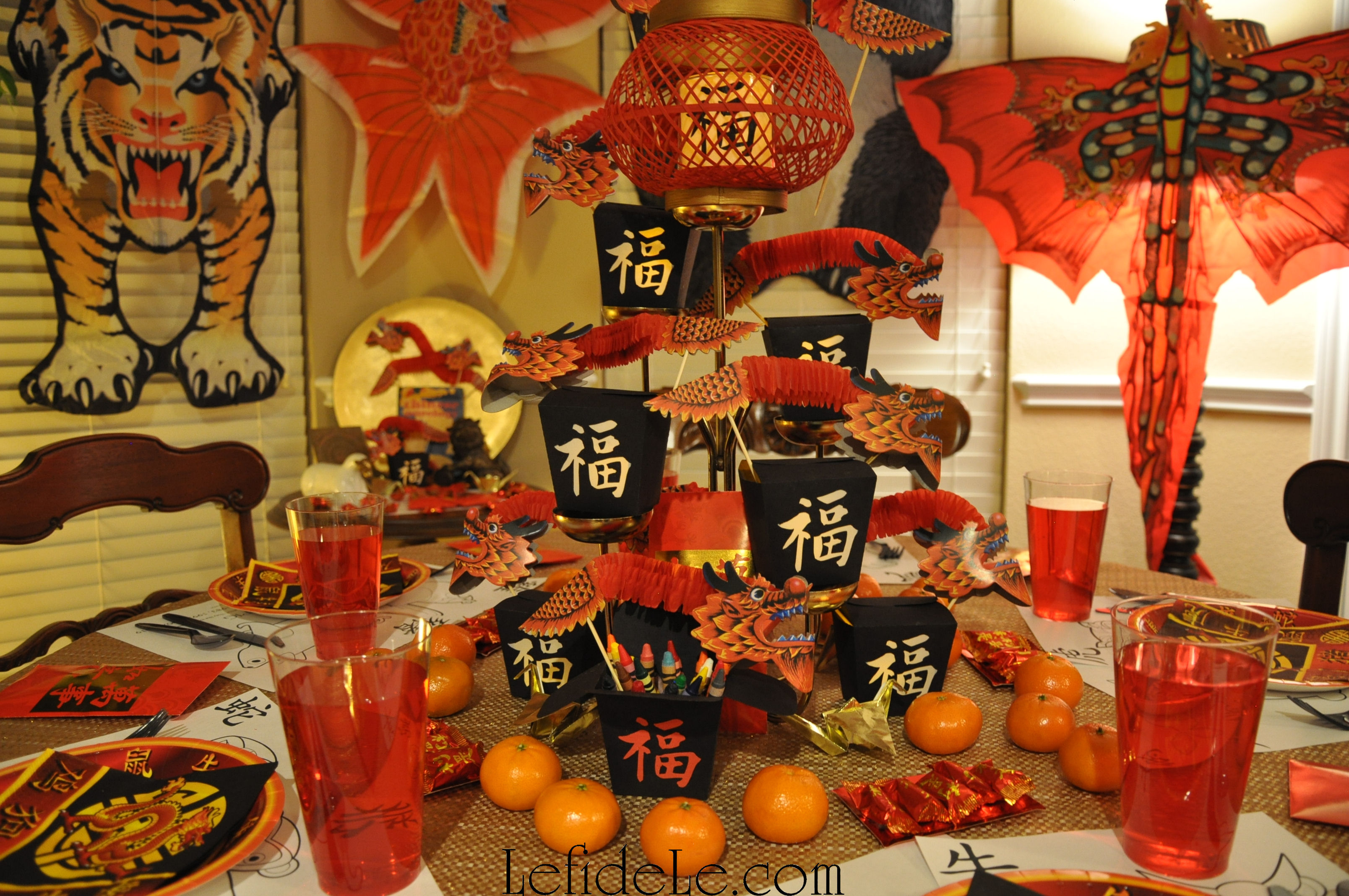 Modern chinese new year table setting - Lanterns Are A Traditional Element Of The Chinese New Year Because The Last Day Of It Is The Start Of The Lantern Festival My Printables Are An Easy Way To