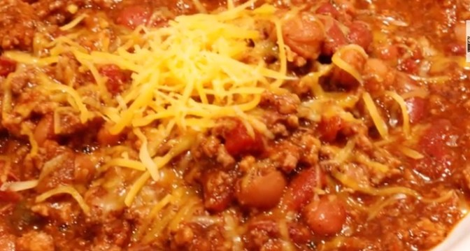 Super Bowl of Chili (Recipe with Three Options: Beef, Turkey, or Veggie)