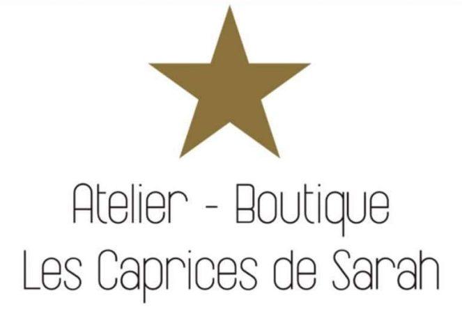 Logo Atelier Boutique Les Caprices de Sarah