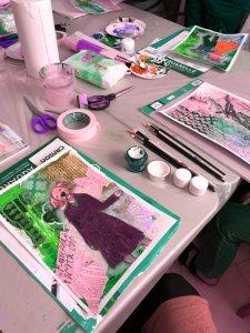 Art journaling atelje