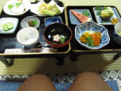 Plat végétarien mangé dans un shukubo