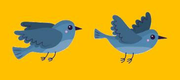 deux oiseaux - le Français illustré