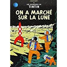 Tintin - On a marché sur la lune - Hergé