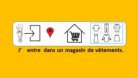 Au magasin de vêtements – vidéo 110