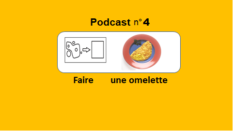 Faire une omelette – podcast 4 du Français illustré