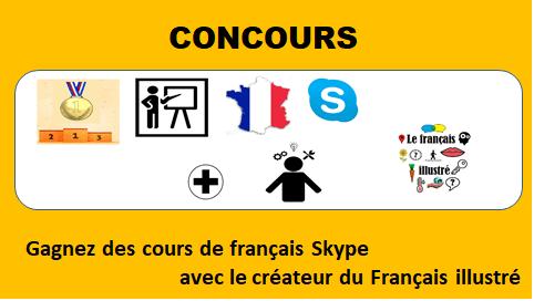 Gagnez des cours de français Skype avec le créateur du Français illustré
