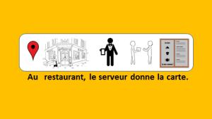 Au restaurant – vidéo 105