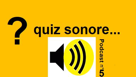 Quiz sonore Podcast 5 – une promenade en ville