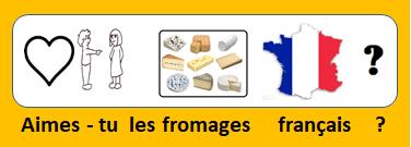 Aimes-tu les fromages français ?